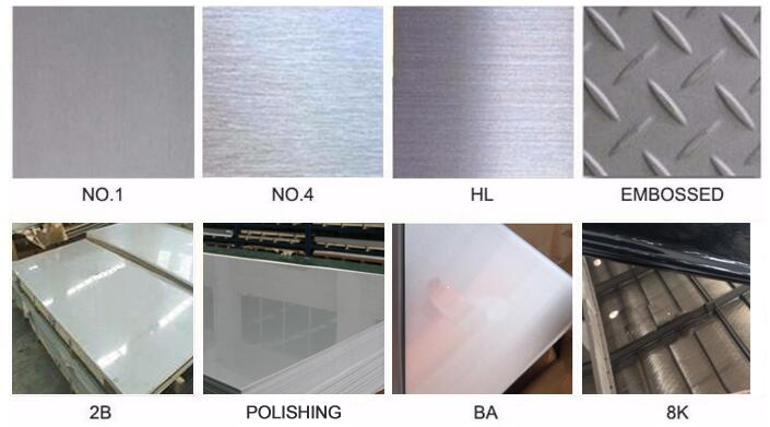 stainless steel surface treatment process