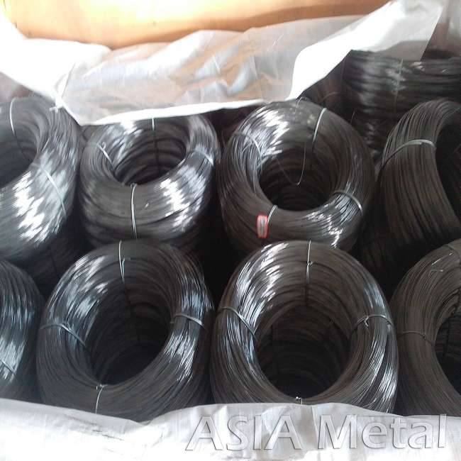 High carbon steel wire for flexible air duct