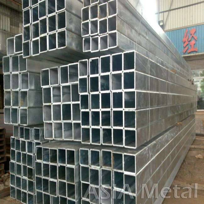 pre galvanized square rectangle steel box bar