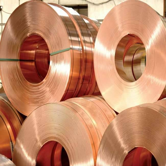 C1100 red copper foil copper coil