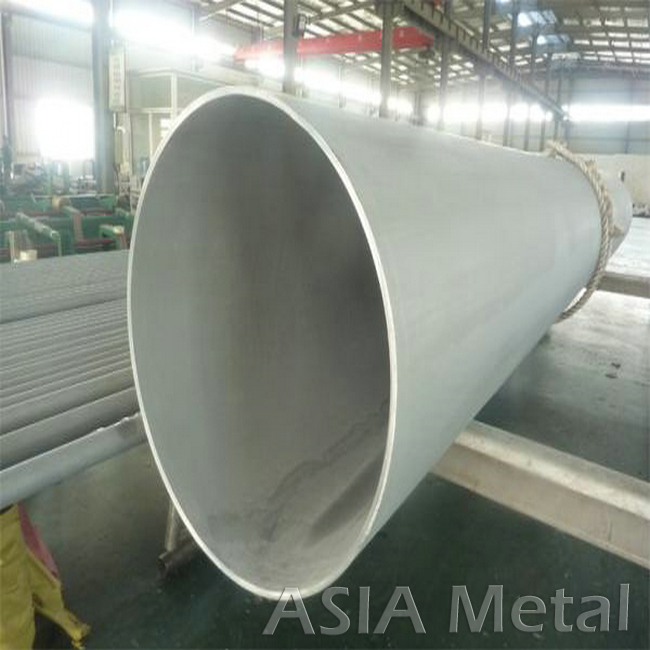 Welded colored large diameter 304 stainless steel pipe